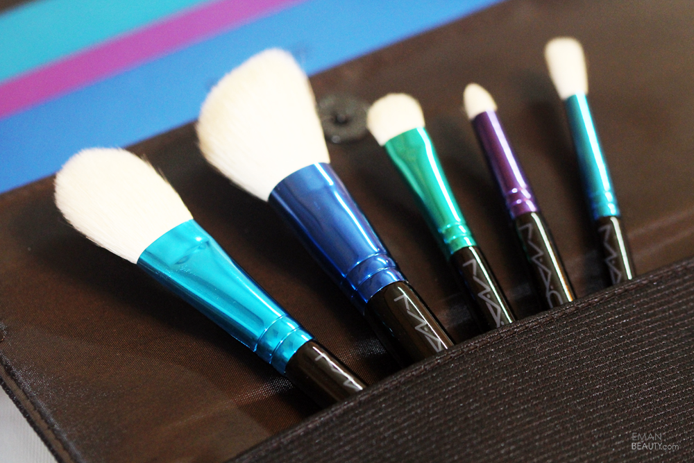 Mac Enchanted Eve Brush Kit Essentials Holidays 2015 Review